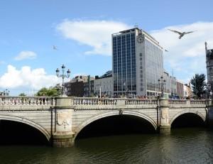 River Liffey in Dublin 2014, © Silvio Suter