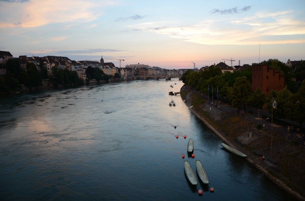 The Rhine in Basel 2014, © Silvio Suter